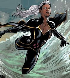 Discover recipes, home ideas, style inspiration and other ideas to try. Storm Comic, Storm Xmen, Storm Marvel, Marvel X, Marvel Heroes, Storm Costume, Storm Cosplay, Storm Trooper Costume, Xmen Comics