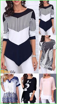 Modlily has all kinds of tops. May be you will like it. Don't miss it. Modlily has all kinds of tops. May be you will like it. Don't miss it. Fashion Wear, Fashion Dresses, Womens Fashion, Blouse Styles, Blouse Designs, Casual Outfits, Cute Outfits, Trendy Tops For Women, Clothing Sites
