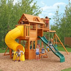 Big backyard playsets kids outdoor playsets plans big ...