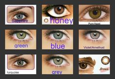 $15 a pair of soft 90 day wear colored contact lenses