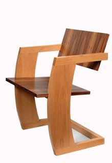 R.M. Schindler\'s Kings Road Sling Chair from 1922. Simplicity and ...