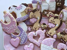 Christening cookies.