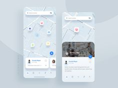 Social App designed by Amin Salehi. Mobile Ui Design, App Ui Design, Map Design, Interface Design, Signage Design, Design Posters, Graphic Design, Mvg App, Best Schedule App