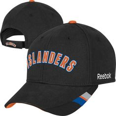 25734b3a55c New York Islanders Black Logo Adjustable Hat  islanders  isles  nyi New  York Islanders