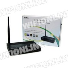 Alfa Network - Alfa Network AIP-W411 150Mbps Wireless 11N Router :: Wifi-Online Shop Router inalámbrico ALFA NETWORK Compatible con DD-WRT Novedad en Wifi-Online Shop