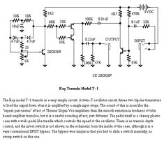 List of Guitar Fuzz, PreAmp, OpAmp electronic circuits and electronic schematics for a variety of Guitar effects and distortion fx. Dc Circuit, Simple Circuit, Math Formula Chart, Electronic Schematics, Math Formulas, Guitar Pedals, Electronics Projects, Hack Internet, Amp