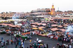 Jemaa el Fna, Marrakech, Morocco