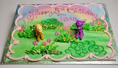 My Little Pony Birthday Sheet Cake Ideas