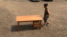extension table  white oak