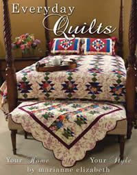 Everyday Quilts book from Marianne Elizabeth