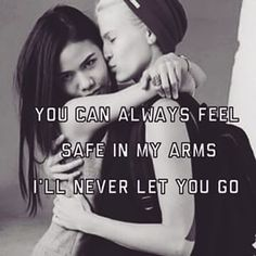 My arms will always be open for you <3