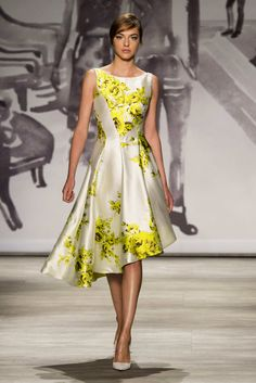 Lela Rose at New York Fashion Week Spring 2015 - Runway Photos Milan Fashion Weeks, New York Fashion, Runway Fashion, Fashion Show, Spring Fashion, Fashion Design, Lela Rose, Lovely Dresses, Beautiful Outfits