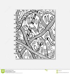 Notebook Cover Design, Notebook Covers, Black White Fashion, Black And White, Snake Patterns, Ring Binder, Notebooks, How To Draw Hands, Doodles