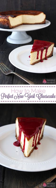 How to Make Perfect New York Style Cheesecake - no water bath required!