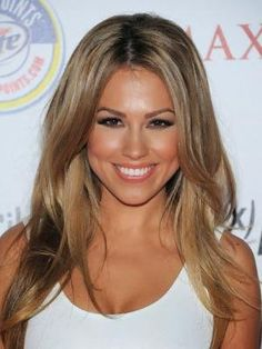 might do this with my hair...dark honey blonde hair by tanya