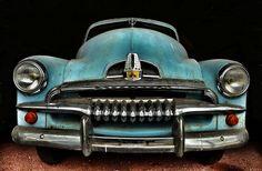Blue FJ Holden