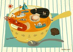 Bouillabaisse - by Tomoko Suzuki
