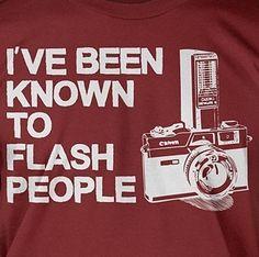 I ❤ flashing on a regular basis.