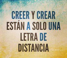 Crear #unmundomejor ;)