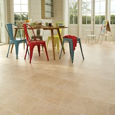 Buy York Stone Karndean Knight Tile Stone Vinyl Flooring from our Hard Flooring range at John Lewis & Partners. Dark Grey Kitchen Cabinets, Kitchen Cabinet Colors, Kitchen Colors, Stone Flooring, Vinyl Flooring, Kitchen Flooring, Flooring Ideas, Karndean Knight Tile, York Stone