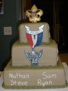 29 Great Scouting Cakes Images Boy Scouting Boy Scouts Scouting