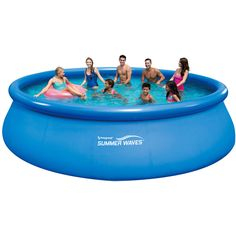 16 x 48 Above-Ground Easy Setup Swimming Pool Set with Cover, Ground Cloth,Ladder, and Filter Pump Only 10 In Stock Order Today! Product Description: Your friends and family will have hours of refresh