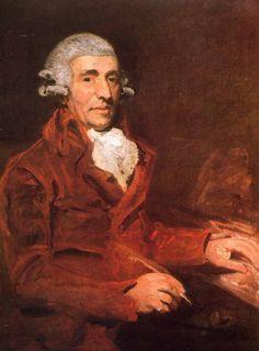 Haydn as portrayed by John Hoppner in England in 1791