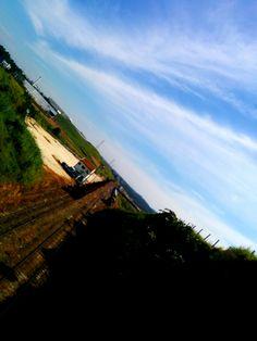 Mogi das Cruzes - Vista Trabalhadores - Porto de areia e estrada de ferro