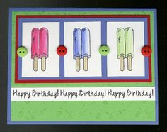 Sparkling Summer by parkerquilter - Cards and Paper Crafts at Splitcoaststampers
