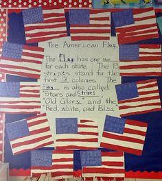 First Class Teacher: American Symbols crafts (Reading night?)