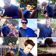 Dylan O'Brien #TeenWolf Season 5