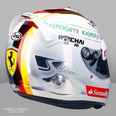 Vettel Helmets