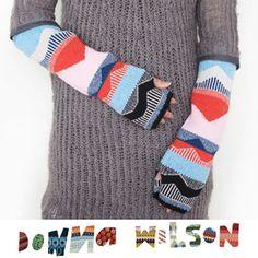 Donna Wilspm fingerless gloves