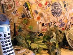 10. Pencil Holder Mosaic by Rox & Things, via Flickr