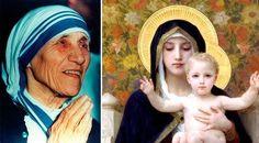 """Ante la gran cantidad de problemas que afrontaba con frecuencia y en medio de un acelerado ritmo de vida, la Beata Madre Teresa de Calcuta inventó una manera de invocar la intercesión de la Virgen María a la que nombró """"Novena de emergencia"""" (Flying Novena)."""