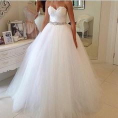 Elegant ball gown wedding dresses can be customized however a bride needs or wants. We are dressmakers in the USA that produce custom #weddingdresses as well as #inspiredweddingdresses that look like a couture gown but cost much less than couture. Get pricing at www.dariuscordell.com/