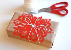wrapping ideas....simple, yet elegant