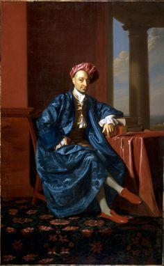 John Singleton Copley, Nicholas Boylston, 1773, Harvard Art Museums/Fogg Museum.