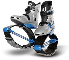 KJ Power Shoe for Juniors in Silver/Blue for $225  For JUNIORS from 5 years up, weight from about 45 lbs (18 Kg) to about 120 lbs (55 Kg)  To buy, visit http://kangooclubcanada.com/kangoo-store  JUNIOR SIZES  US Boys 1-3 / Girls 2-4 / Eur 32-35 / UK Jr 13-2  US Boys 4-6 / Girls 5-7 / Eur 36-39 / UK 3-5