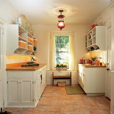 Mudroom, laundry, potting station combo!   Photo: Pascal Blancon   thisoldhouse.com