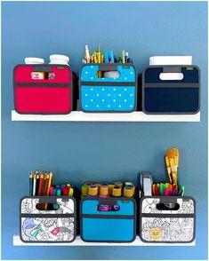 Ikea Storage Shelves, Playroom Organization, Cube Storage, Craft Storage, Organization Hacks, Playroom Ideas, Storage Ideas, Organizing, Craft Desk