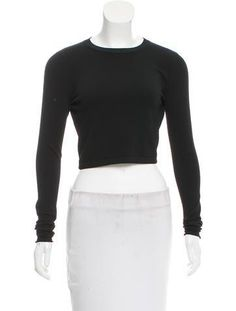 #The RealReal - #Stella McCartney Stella McCartney Open Back Crop Top w/ Tags - AdoreWe.com