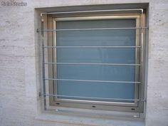 Resultado de imagen de rejas practicables para ventanas