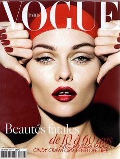 Vanessa Paradis en couverture de Vogue  60