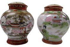 Nippon Salt & Pepper Shakers - One Kings Lane - Vintage & Market Finds - Tabletop
