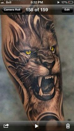Tat idea but with a wolf
