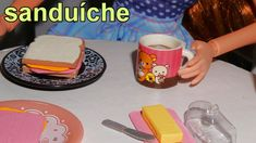 Como fazer um sanduíche (comida) para boneca Barbie, Monster High, Froze...