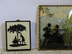 Vintage Silhouette Pictures by morembwstuff on Etsy, $14.99