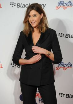LISA SNOWDON at the Capital FM Jingle Bell in London