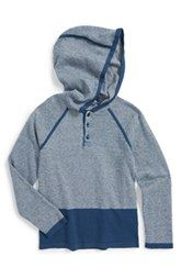 Vince Mini Stripe Colorblock Hoodie (Toddler Boys & Little Boys)